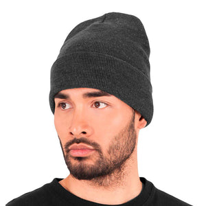 Yupoong - Fold Up Beanie - Dark Grey