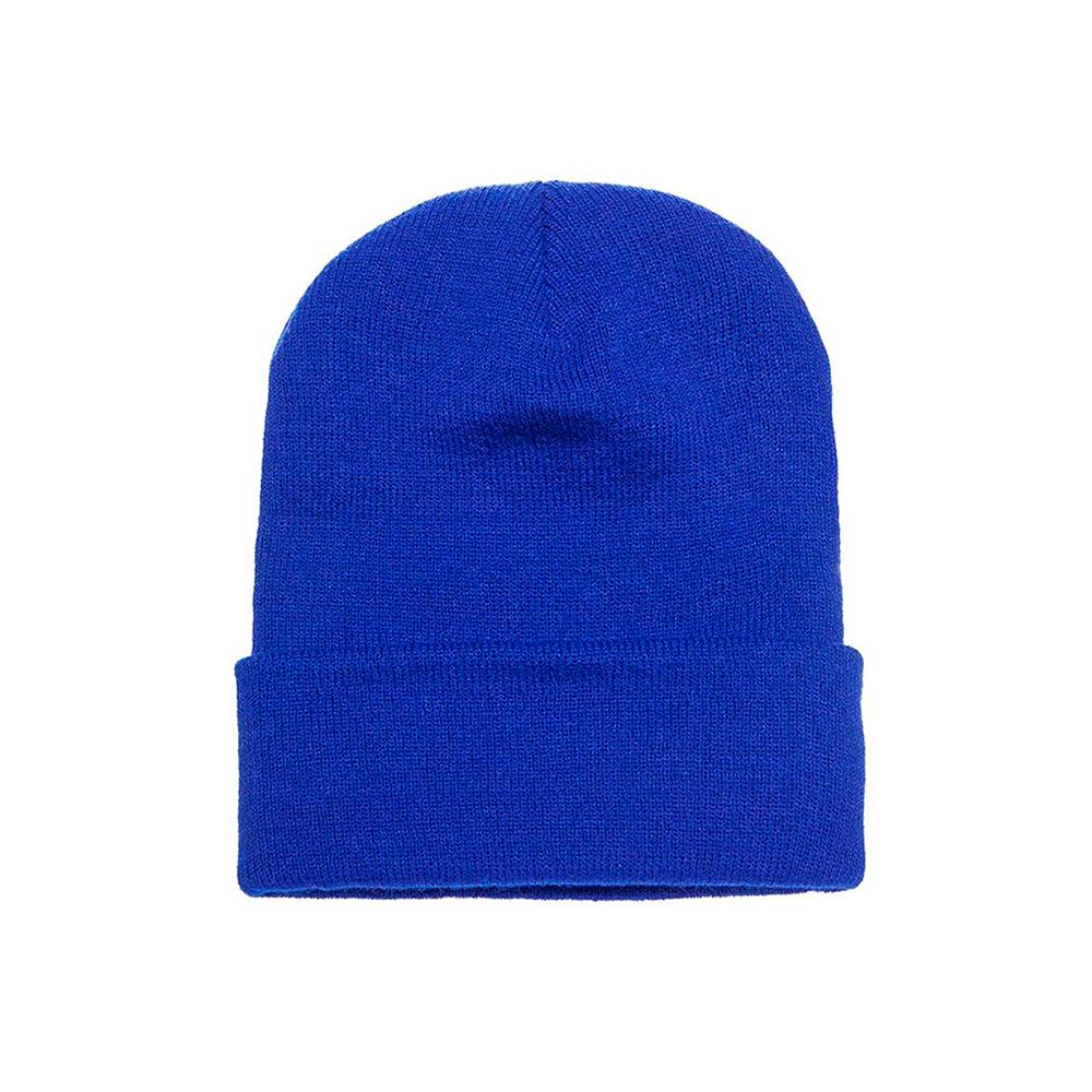 Yupoong - Fold Up Beanie - Royal Blue