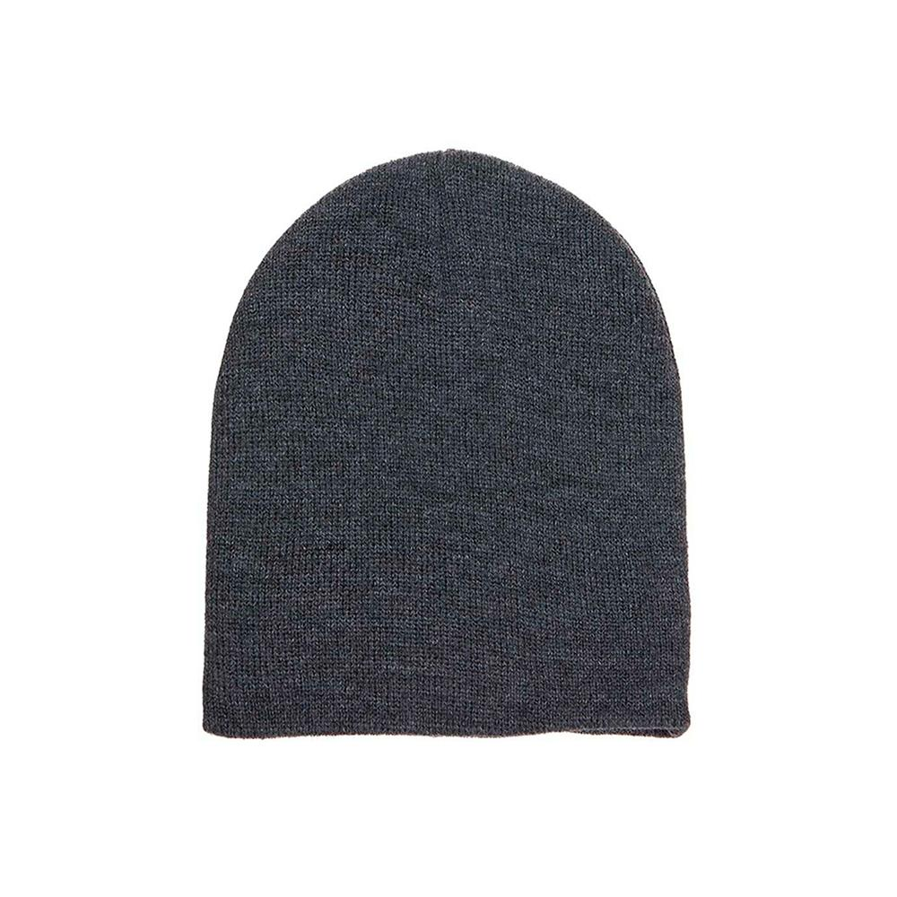 Yupoong - Short Beanie - Dark Grey
