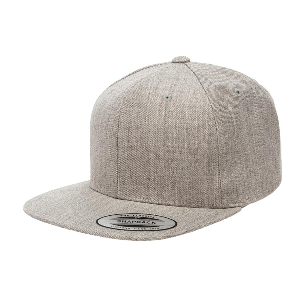 Yupoong - Kids - Snapback - Heather Grey