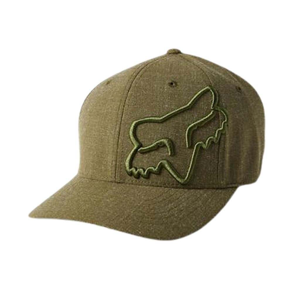 Fox - Clouded 2.0 Hat - Flexfit - Olive Green