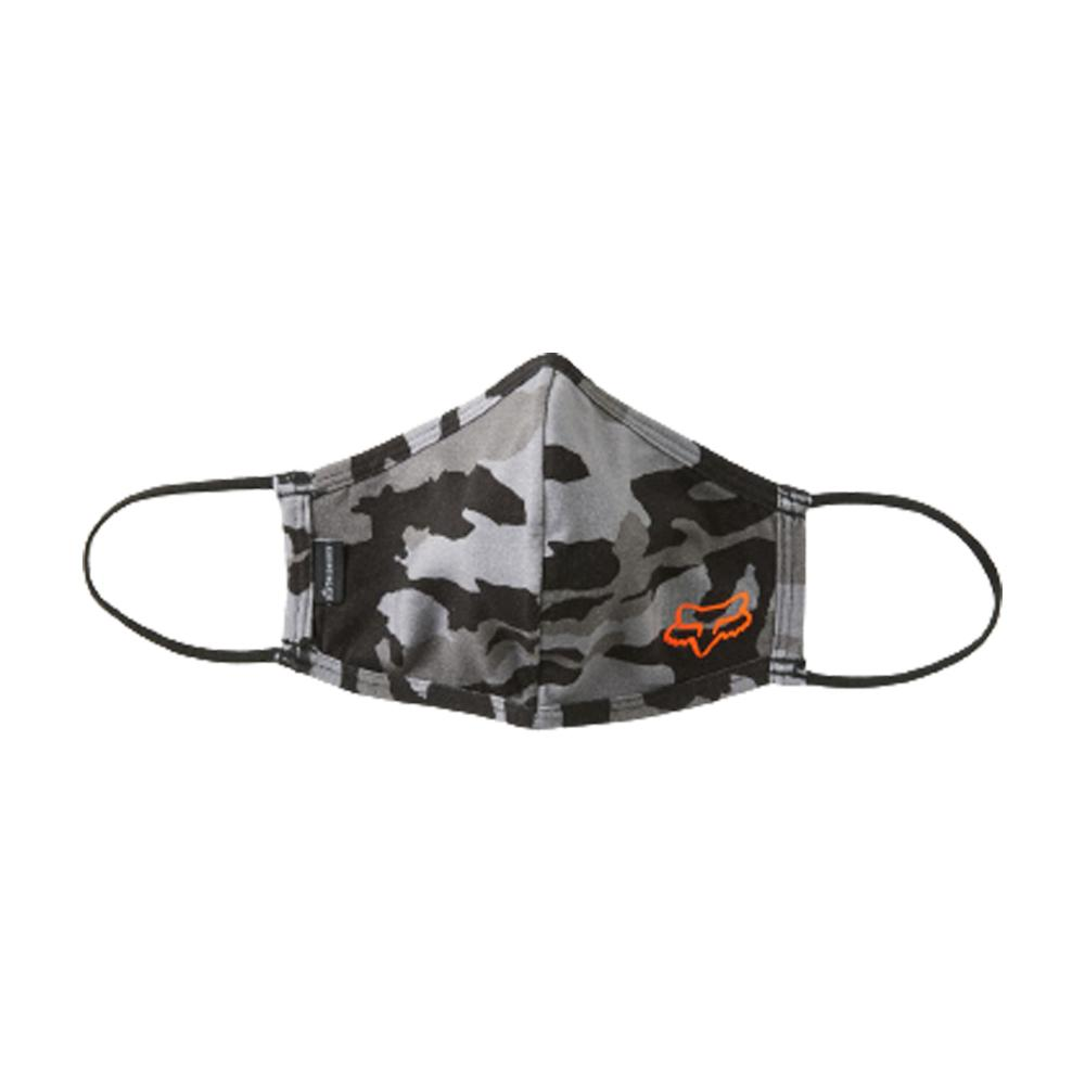 Fox - Face Mask - Black Camo