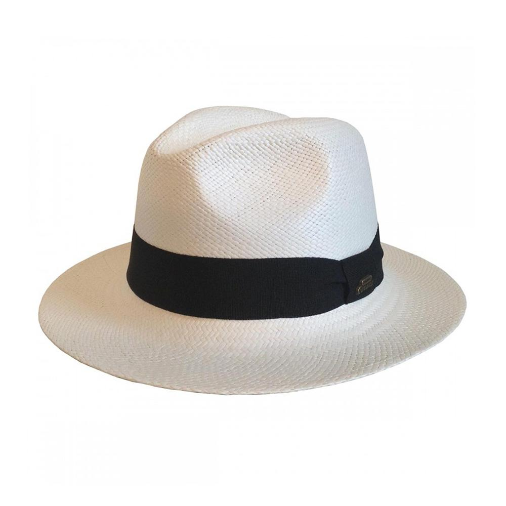 Headzone - Panama - Straw Hat - Satin White
