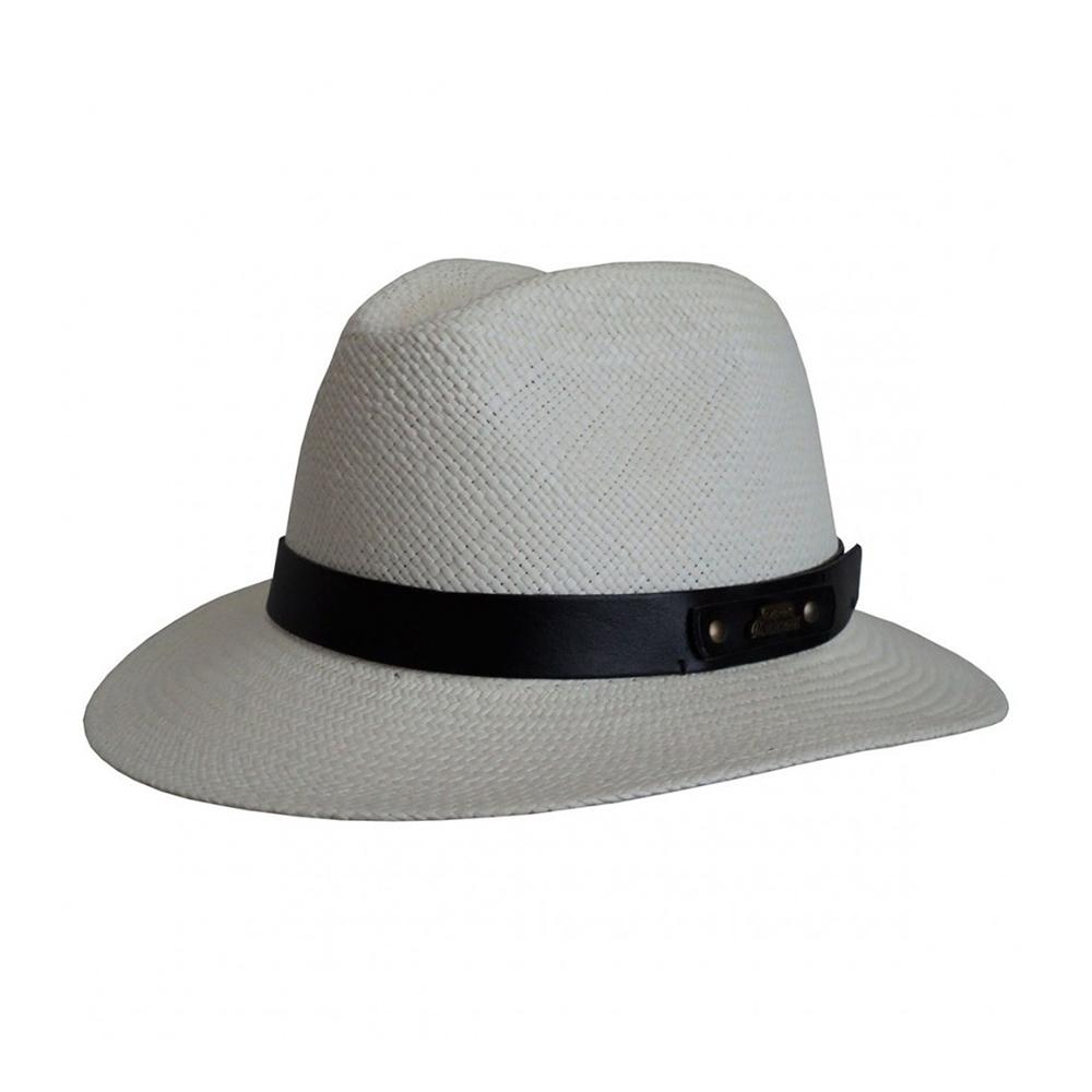 Headzone - Panama - Straw Hat - White