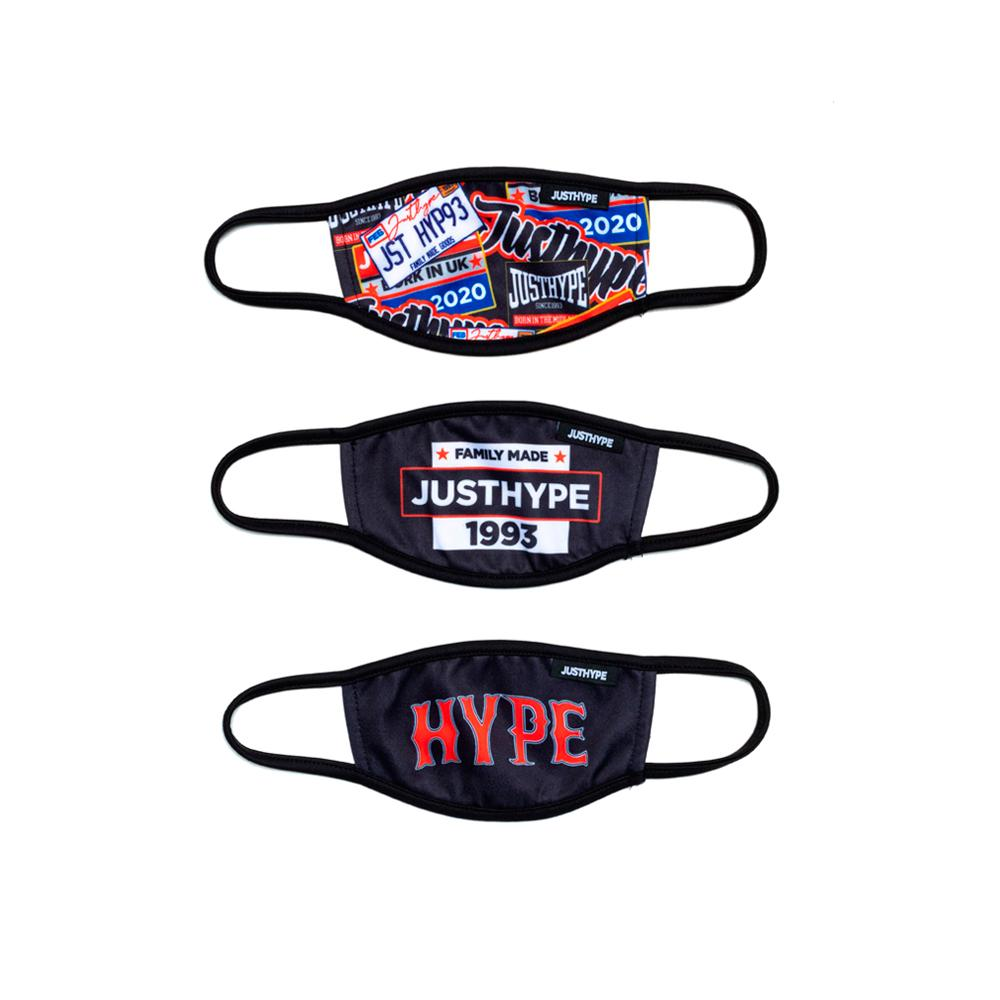Hype - 3X Kids Squad - Face Mask - Multi Color