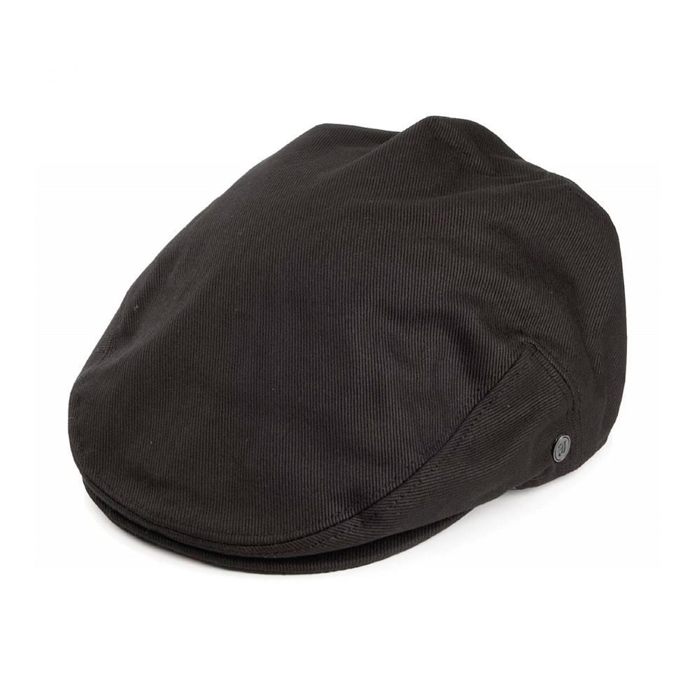 Jaxon & James - Cotton Cap - Sixpence/Flat Cap - Black
