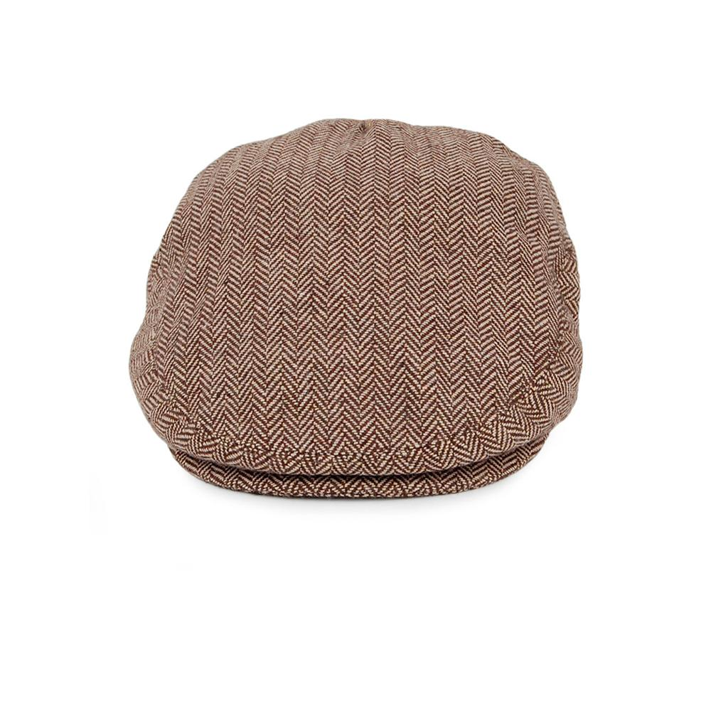 Jaxon & James - Herringbone - Sixpence/Flat Cap - Brown