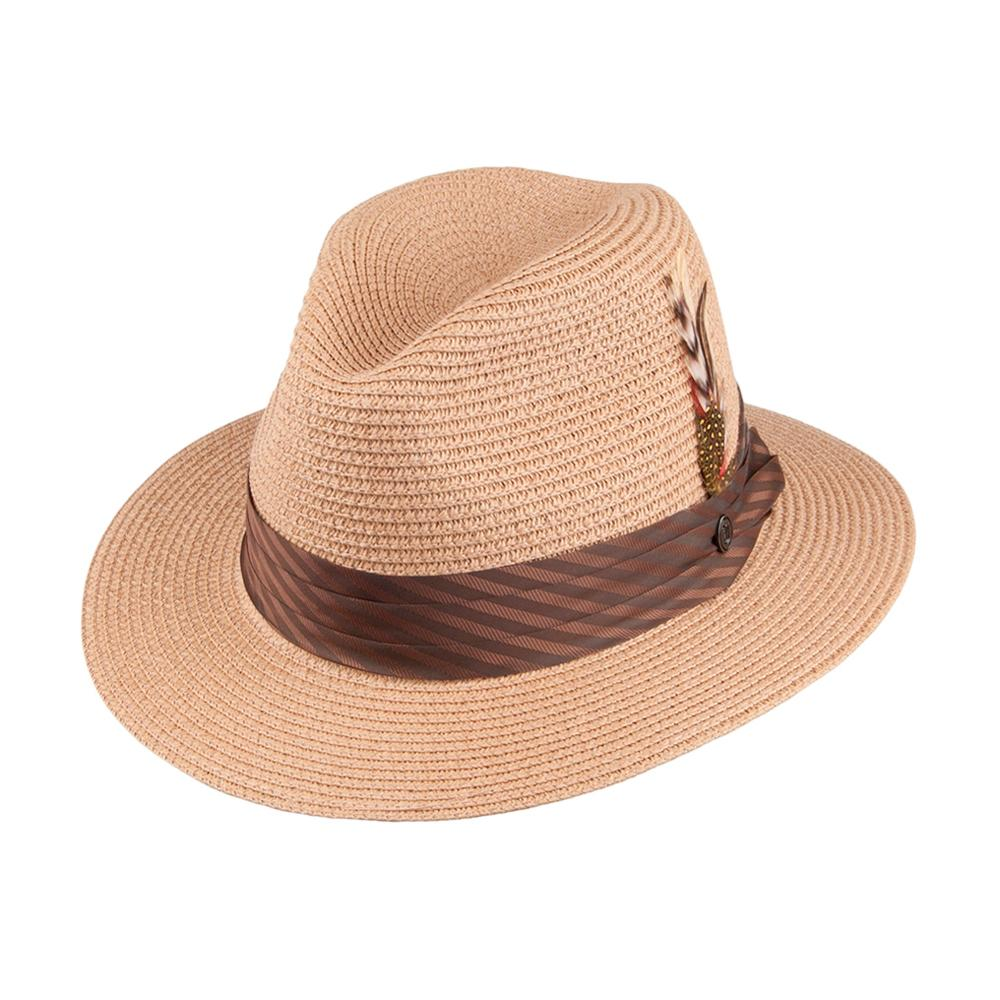 Jaxon & James - Toyo Braided - Straw Hat - Cappuccino/Brown
