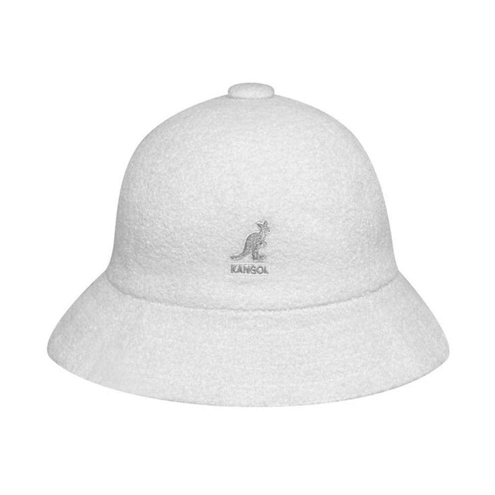 Kangol - Bermuda Casual - Bucket Hat - White