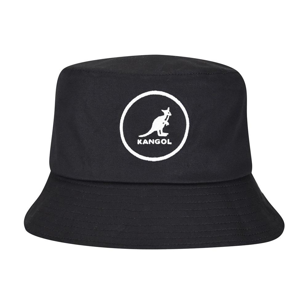 Kangol - Cotton - Bucket Hat - Black