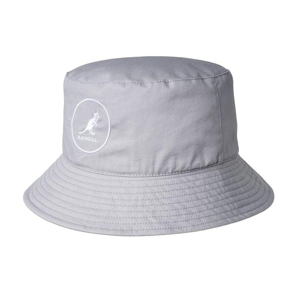 Kangol - Cotton - Bucket Hat - Light Grey