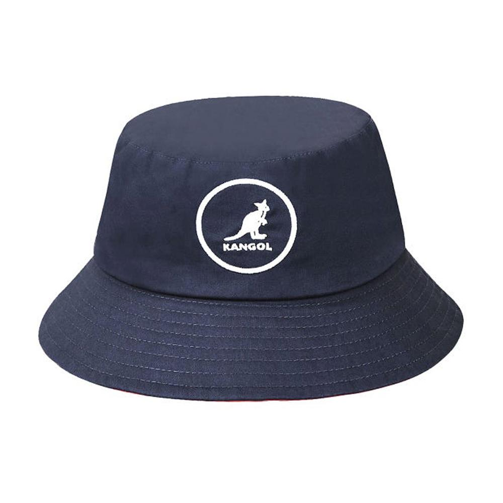 Kangol - Cotton - Bucket Hat - Navy