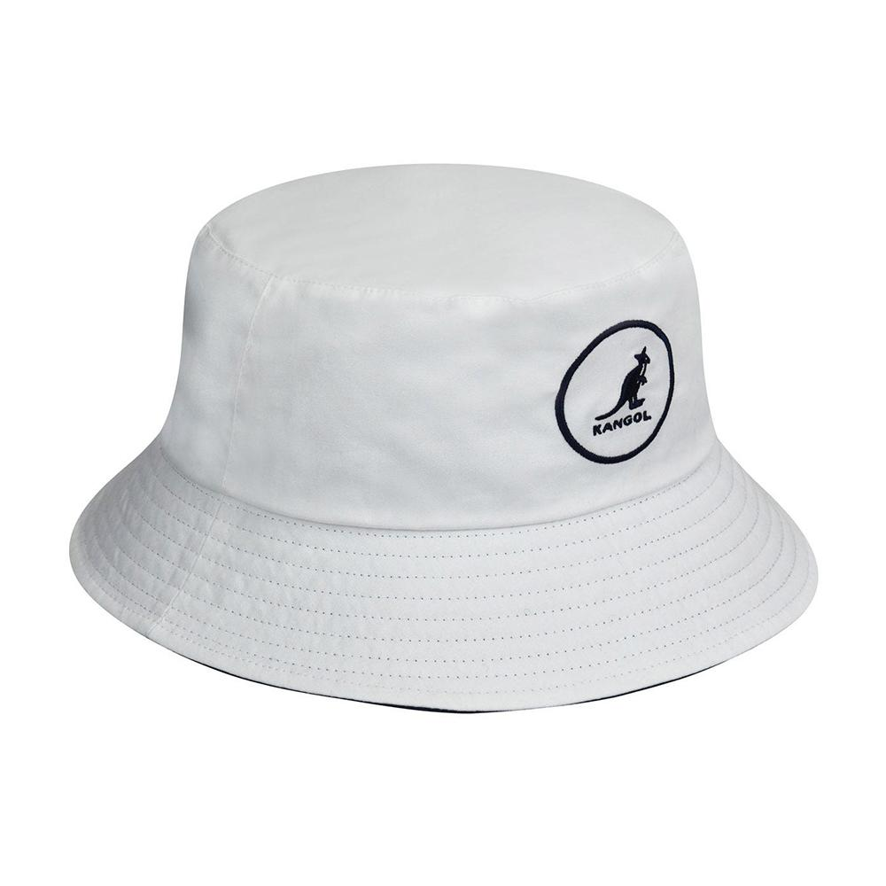 Kangol - Cotton - Bucket Hat - White