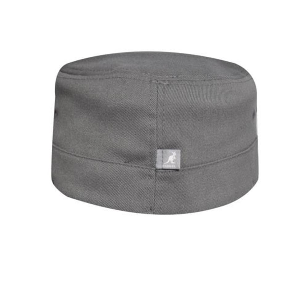 Kangol - Textured Wool Army Cap - Flexfit - Flannel