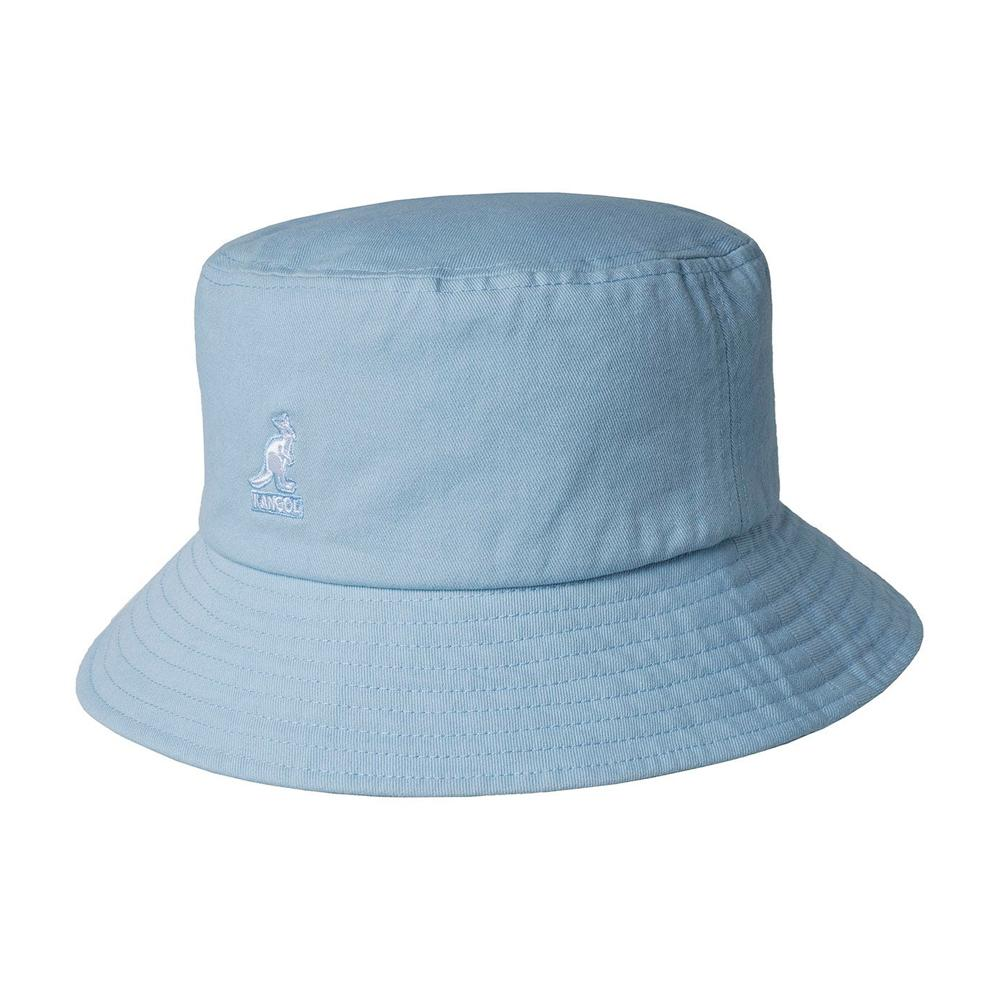 Kangol - Washed - Bucket Hat - Blue Tint
