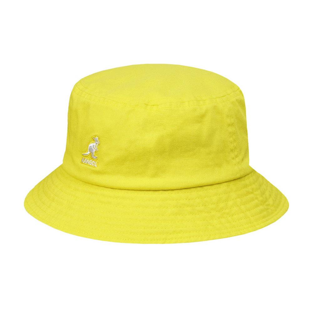 Kangol - Washed - Bucket Hat - Lemon Sorbet