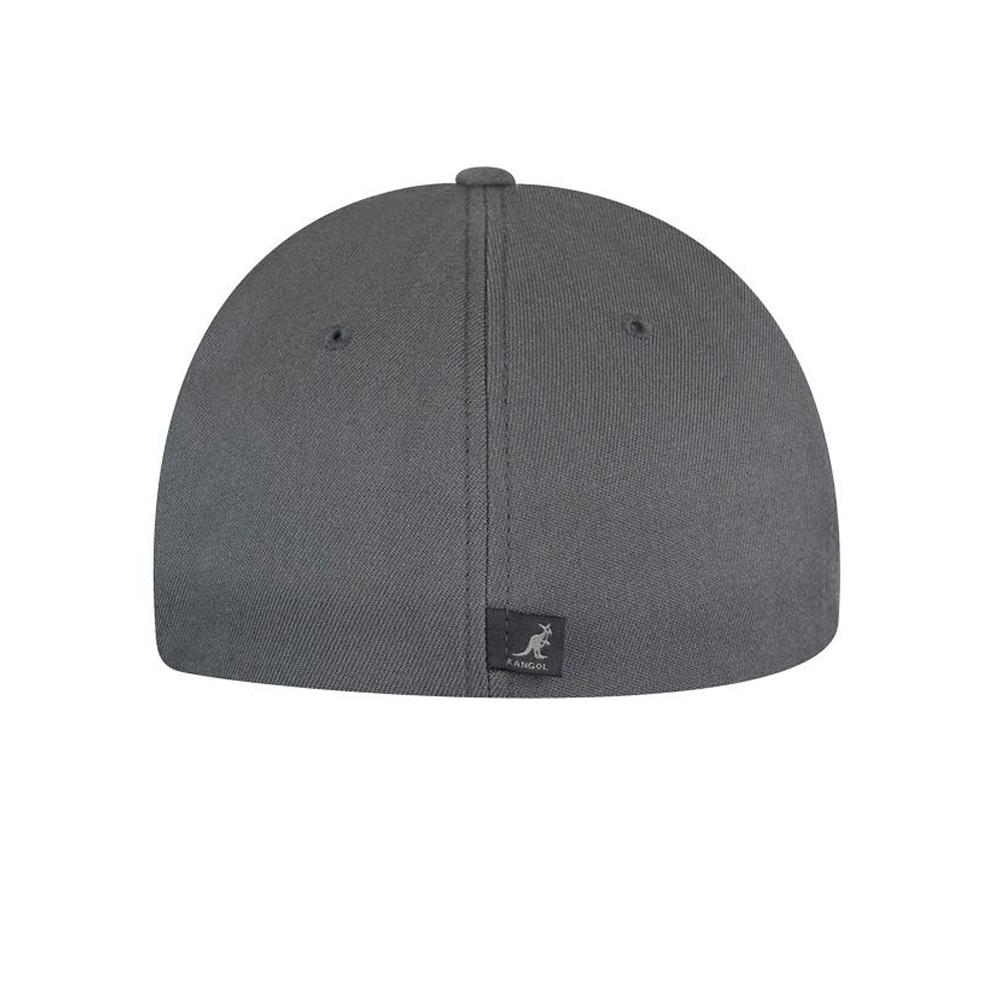 Kangol - Wool Baseball - Flexfit - Dark Flannel