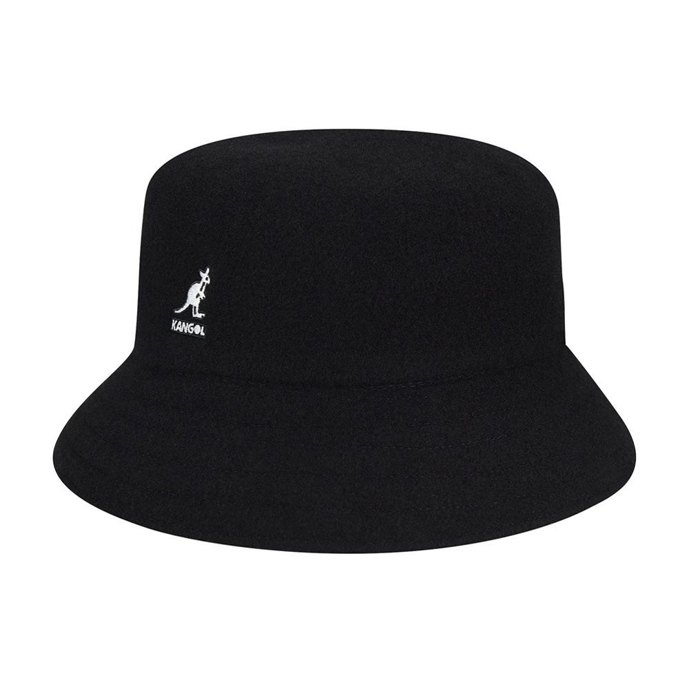 Kangol - Wool Lahinch - Bucket Hat - Black