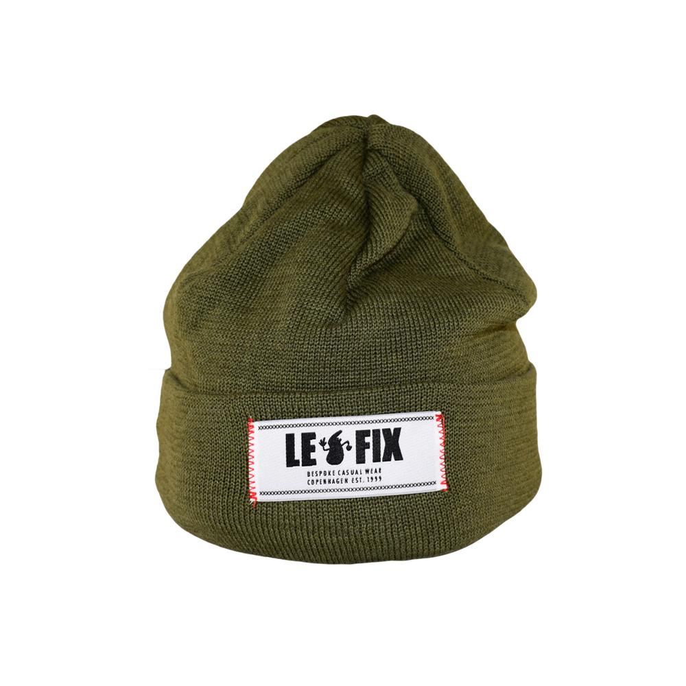 Le Fix - Classic Label - Beanie - Green
