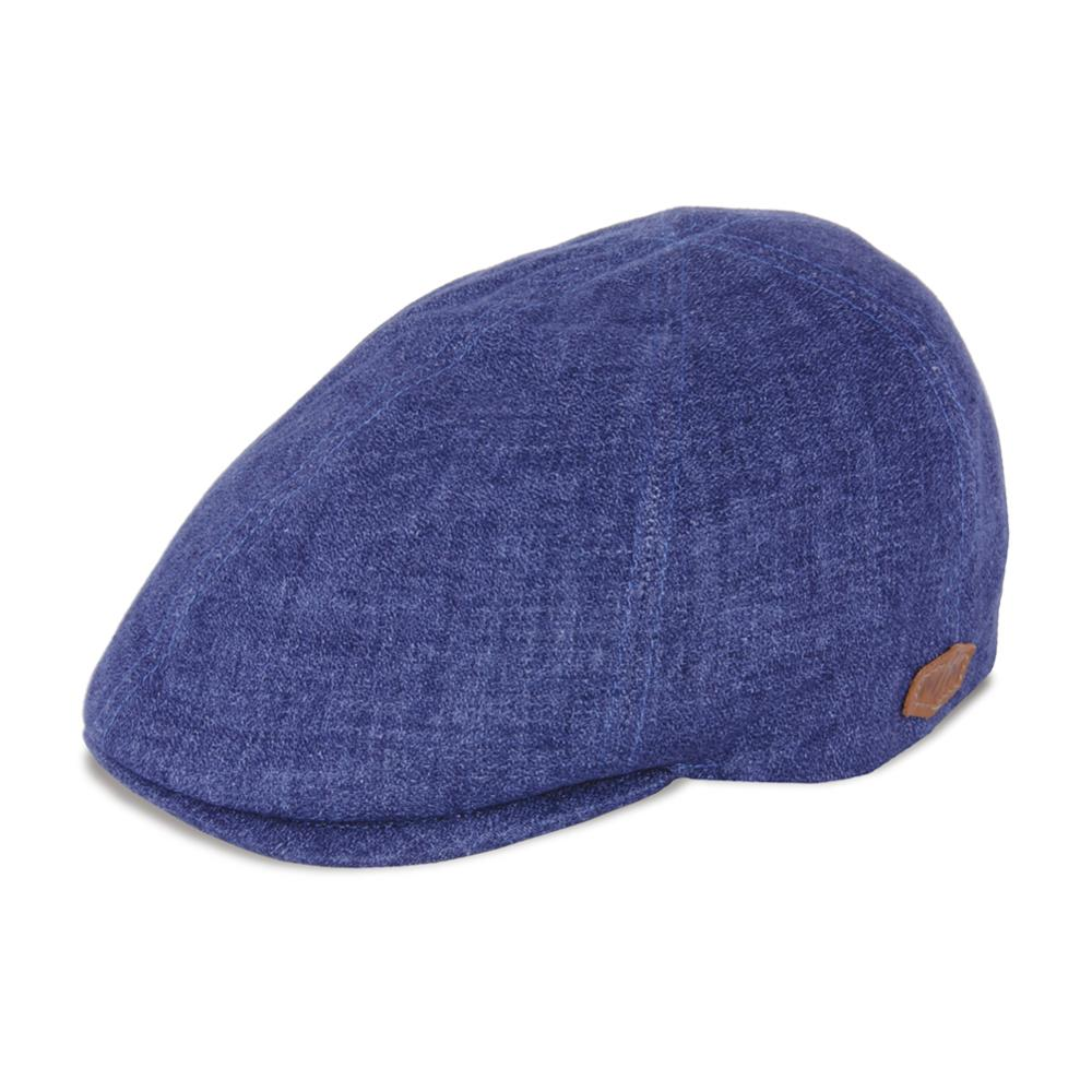 MJM Hats - Broker - Sixpence/Flat Cap - Blue