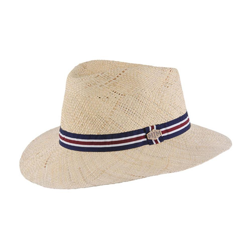 MJM Hats - Liam - Straw Hat - Natural