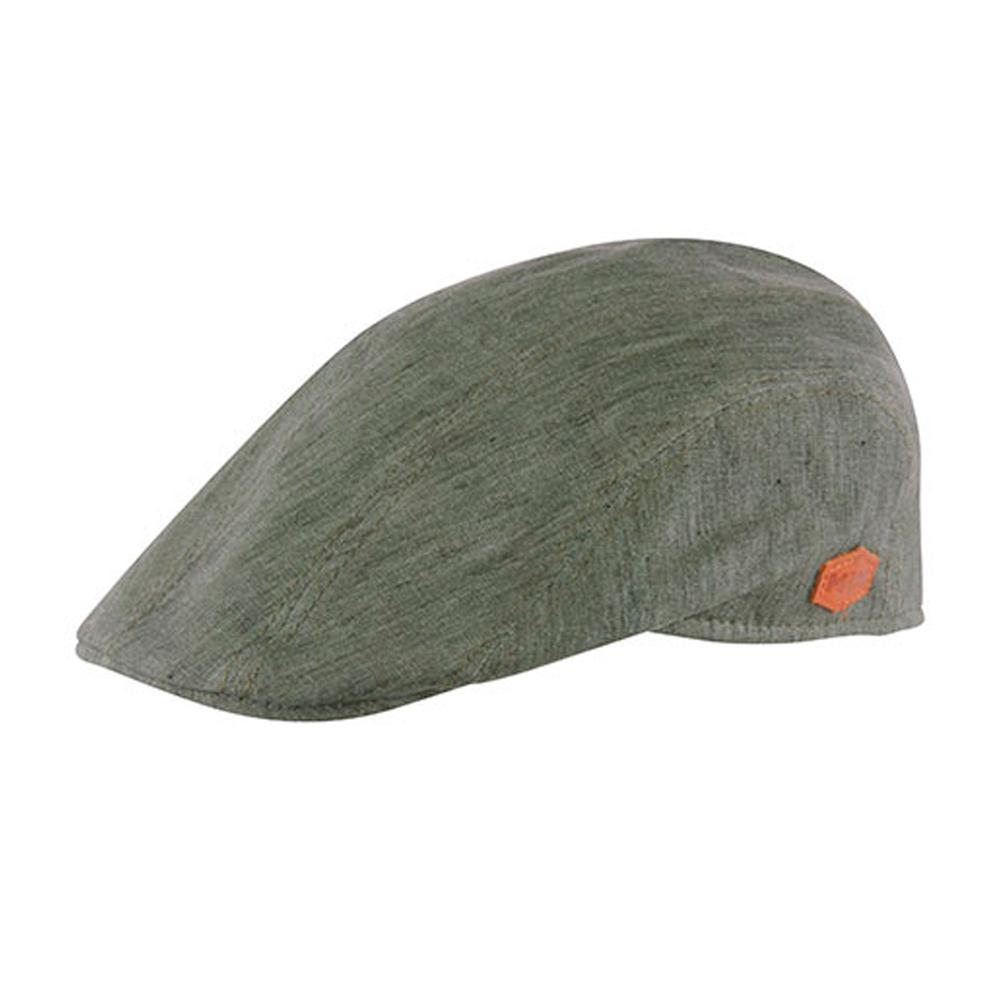 MJM Hats - Maddy - Sixpence/Flat Cap - Green