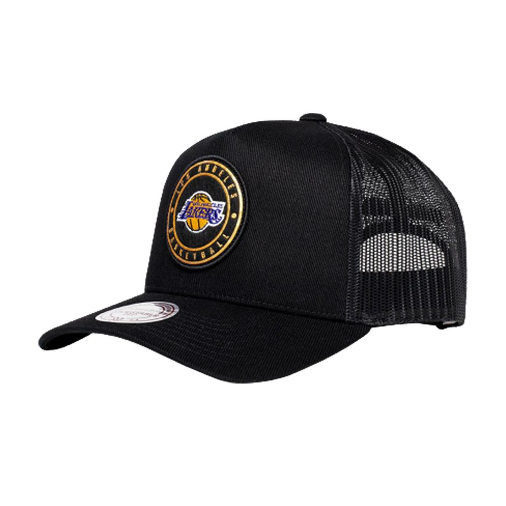 Mitchell & Ness - LA Lakers Hickory - Trucker/Snapback - Black