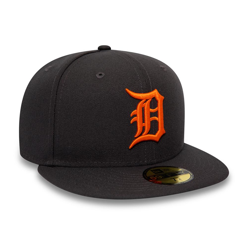 New Era - Detroit Tigers 59Fifty Essential - Anthracite Grey/Orange