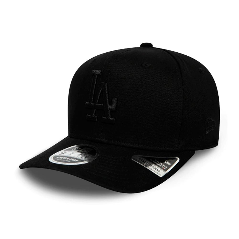 New Era - LA Dodgers 9Fifty Stretch Snap - Snapback - Black/Black