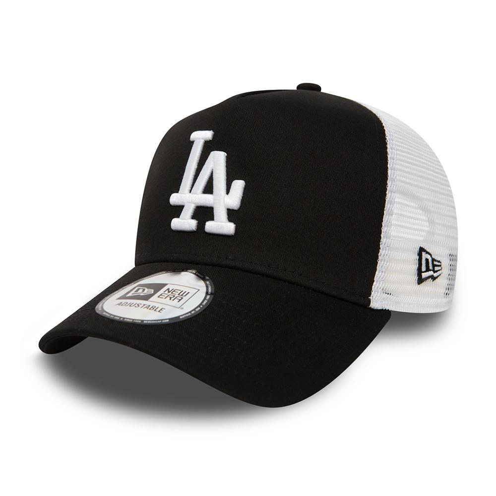 New Era - LA Dodgers Clean A Frame - Trucker/Snapback - Black/White