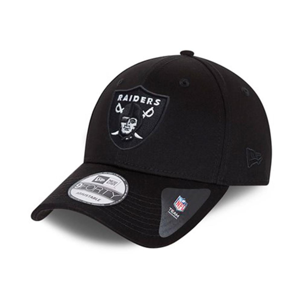 New Era - Las Vegas Raiders 9Forty Base - Snapback - Black