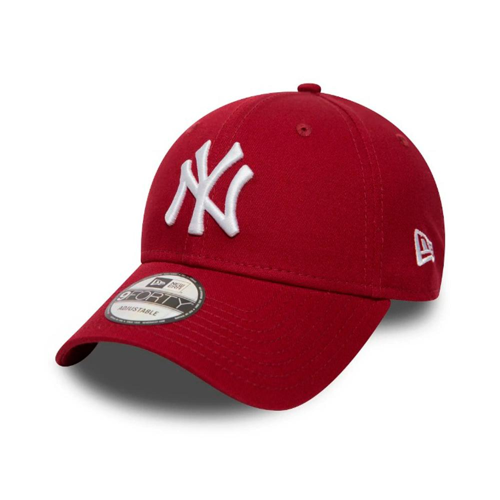 New Era - NY Yanekes 9Forty Youth - Adjustable - Cardinal/White