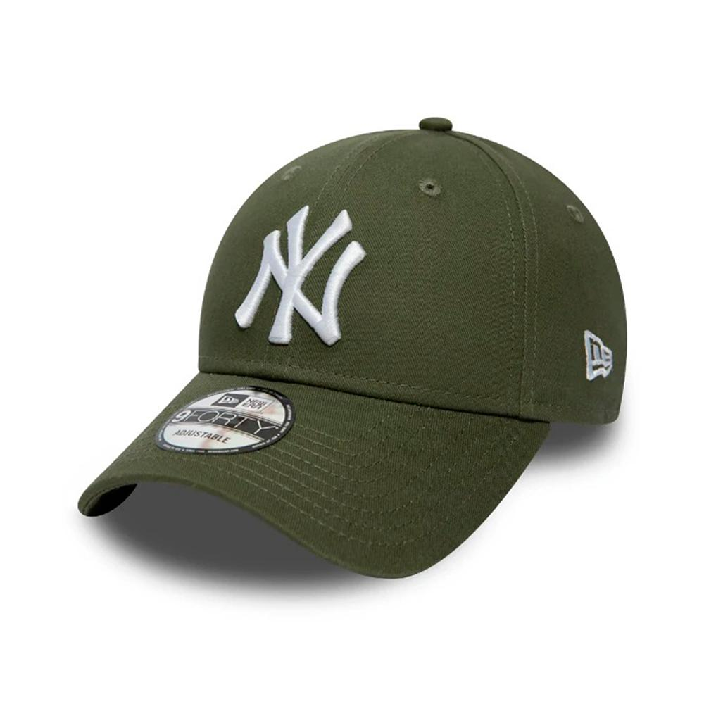 New Era - NY Yanekes 9Forty Youth - Adjustable - Olive/White