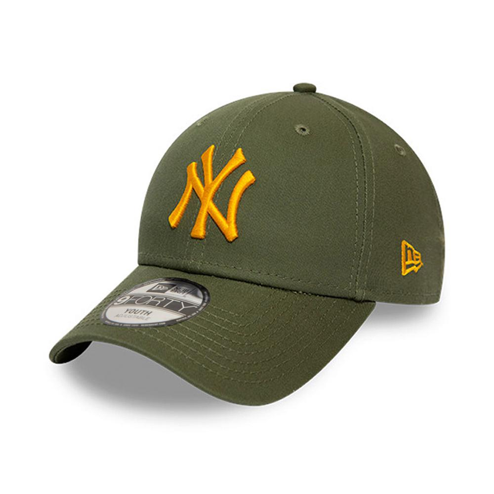 New Era - NY Yanekes 9Forty Child - Adjustable - Olive/Yellow