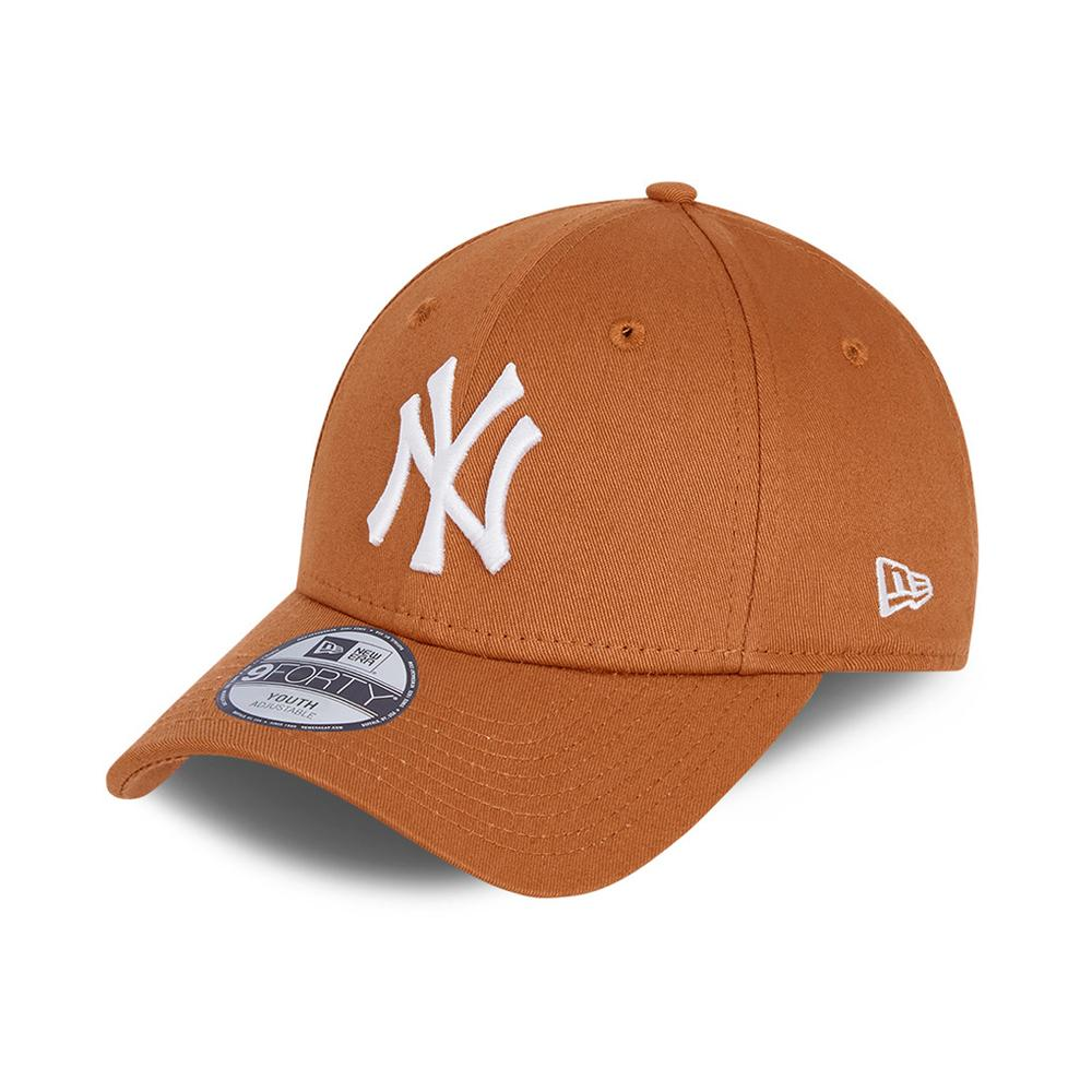 New Era - NY Yanekes 9Forty Child - Adjustable - Toffee/White