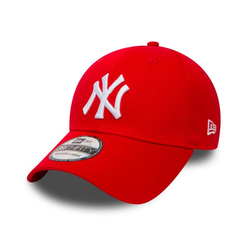 New Era - NY Yankees 39Thirty - Flexfit - Scarlet/White