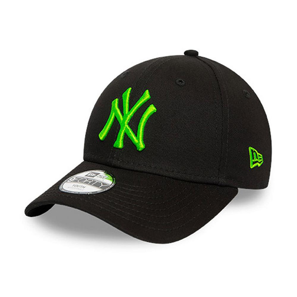 New Era - NY Yankees 9Forty Kids - Snapback - Black/Neon Green