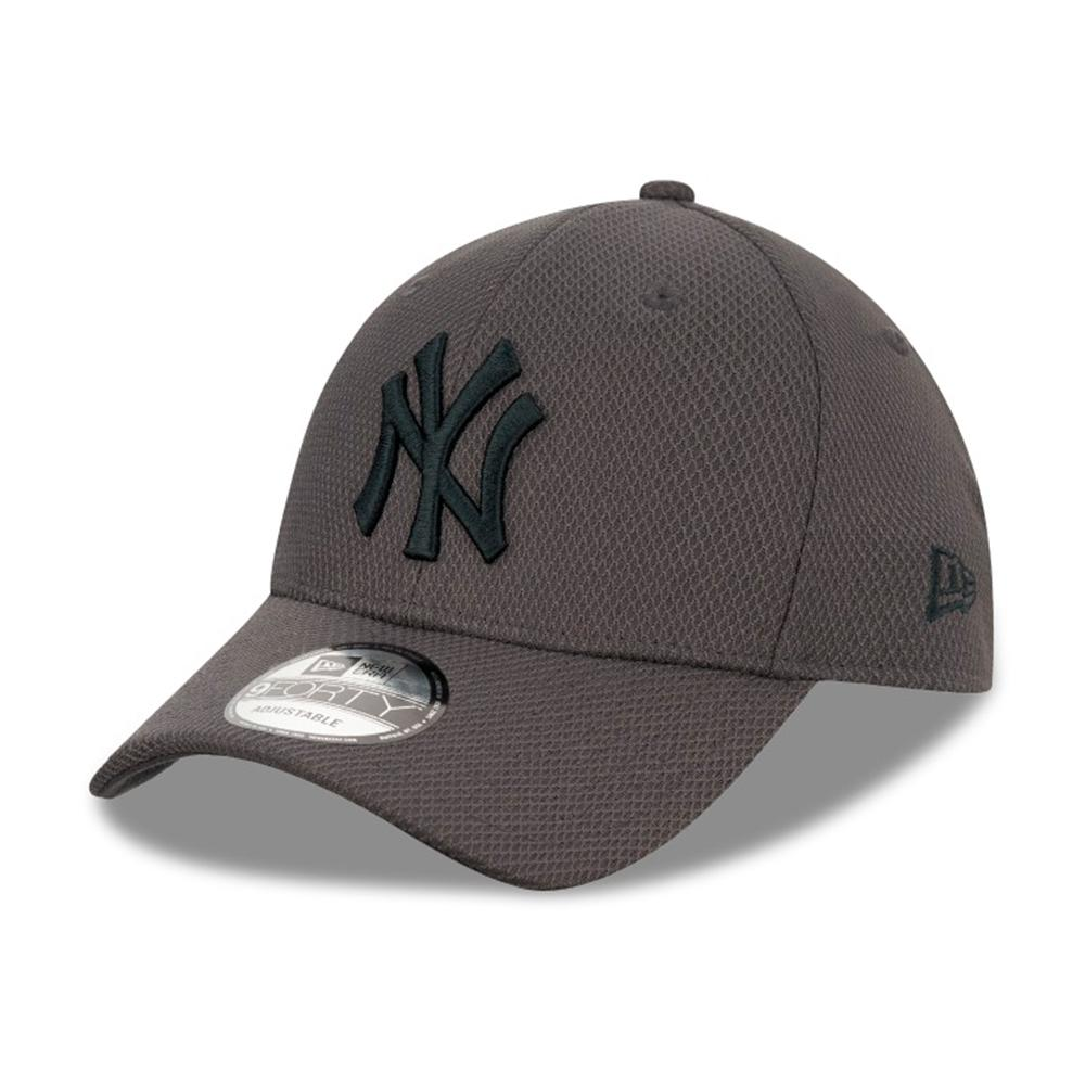 New Era - NY Yankees Diamond Era 9Forty - Adjustable - Grey