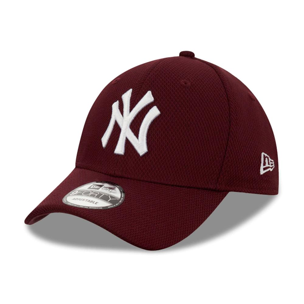 New Era - NY Yankees Diamond Era 9Forty - Adjustable - Maroon