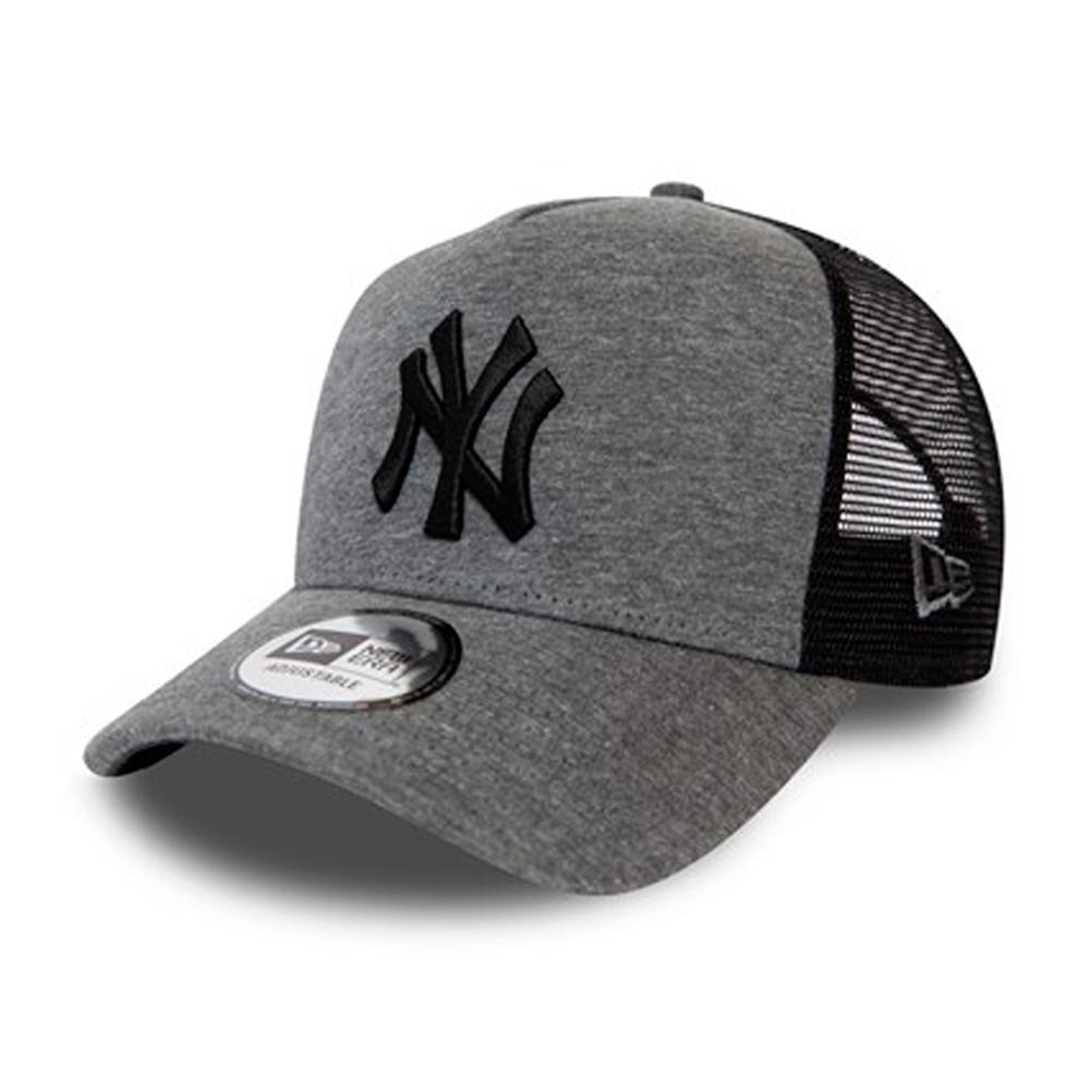 New Era - NY Yankees Jersey Essential - Trucker/Snapback - Grey/Black