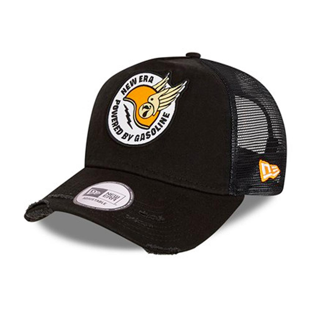 New Era - Race Patch A Frame - Trucker/Snapback - Black
