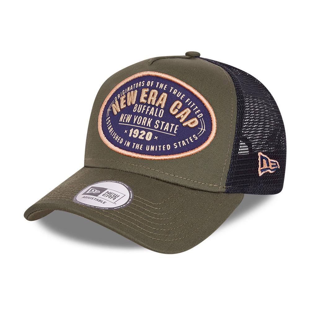 New Era - USA Flaf A Frame - Trucker/Snapback - Khaki/Black