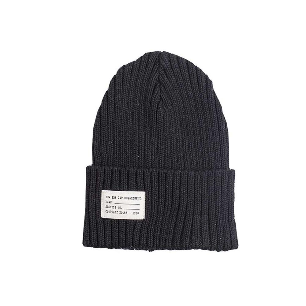 New Era - Watch Knit - Beanie - Black