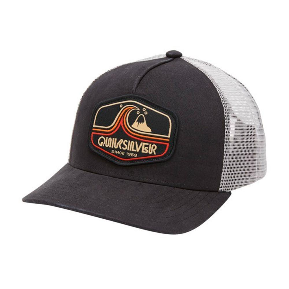 Quiksilver - Tweaked Out - Trucker/Snapback - Black/White