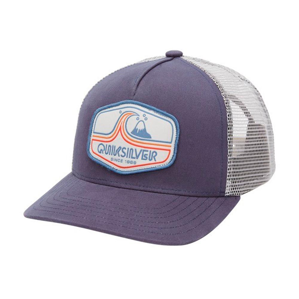 Quiksilver - Tweaked Out - Trucker/Snapback - Navy/White