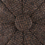 Stetson - Hatteras Wool Mix - Sixpence/Flat Cap - Brown