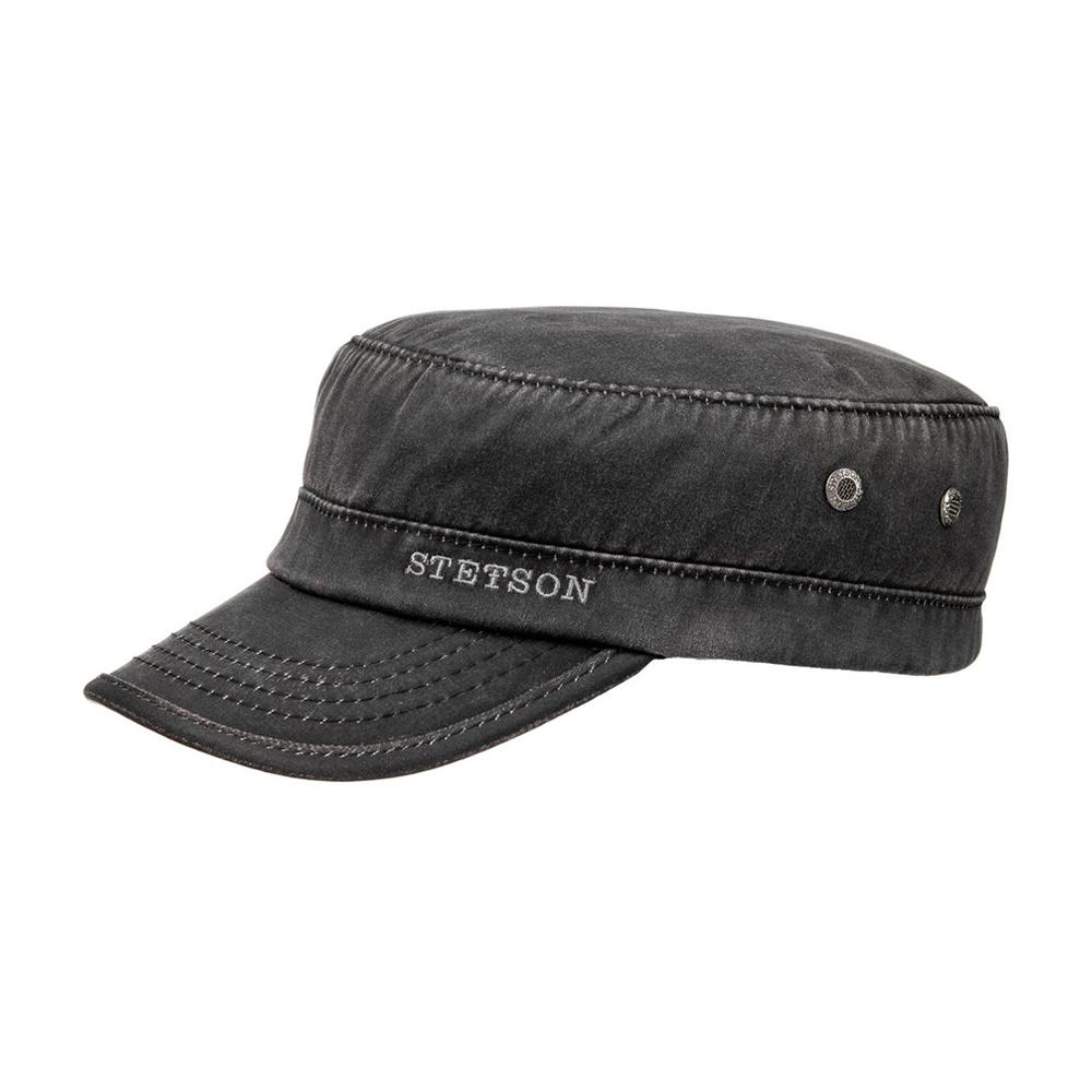 Stetson - Datto Winter Army Cap - Black