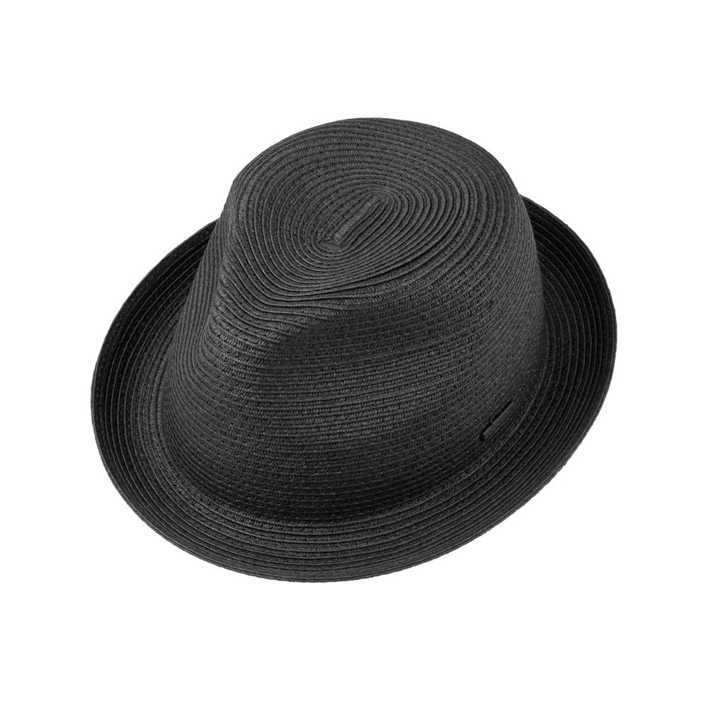 Stetson - Dawson Player Hat - Straw Hat - Black