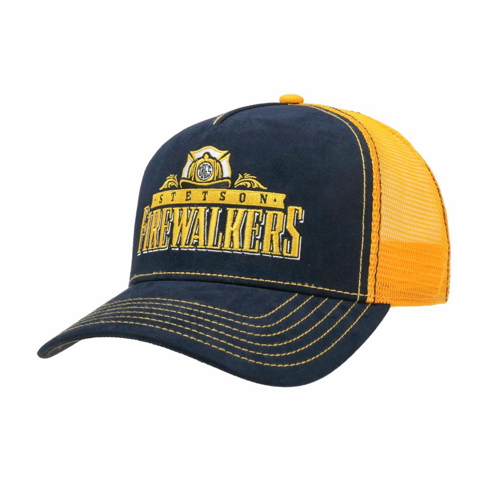 Stetson - Firewalkers - Trucker/Snapback - Blue/Yellow