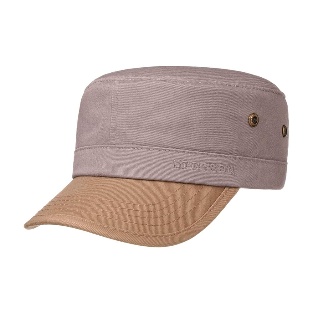 Stetson - Fremont Army Cap - Adjustable - Grey/Khaki